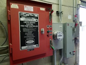 Fire Pump Transfer Switch Inspection